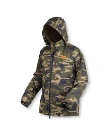 Bank Bound 3-Season Camo Fishing JackXXL