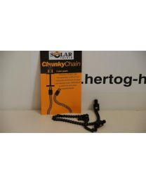 Solar Black Stainless Chain 9inch(25cm)