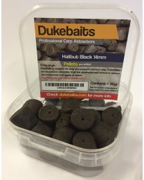 Dukebaits Pellets Pre-Drilled 14mm Black