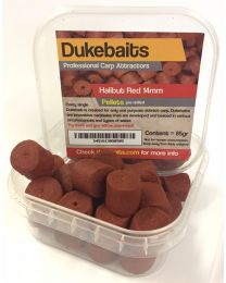 Dukebaits Pellets Pre-Drilled 14mm Red