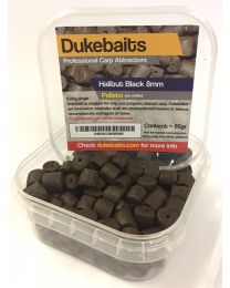 Dukebaits Pellets Pre-Drilled 8mm Black