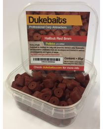 Dukebaits Pellets Pre-Drilled 8mm Red
