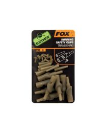 Fox Edges Running Safety Clips Khaki