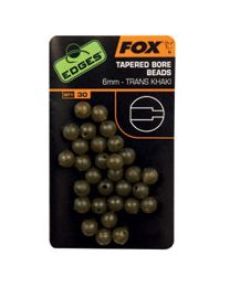 Fox Edges Tapered Bore Beads 6mm