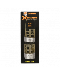 Guru x-change distance feeder cage small 40+50