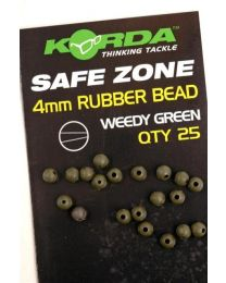 Korda Safe Zone Rubber Bead 4mm Green
