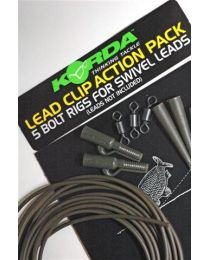 Korda Lead Clip Action Pack Gravel
