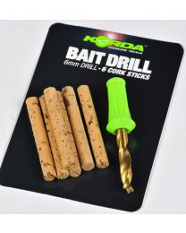 Korda Bait Drill 8mm With Cork Sticks