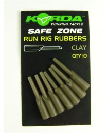 Korda Run Rig Rubbers Clay