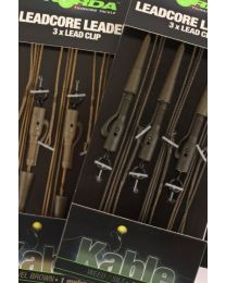 Korda Leadcore Leaders Hybrid Lead Clip Gravel