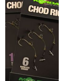 Korda Carp Rig Chod Short 4 Barbless