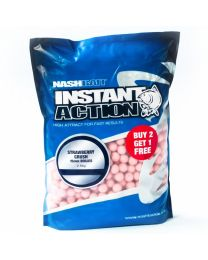 Nash Strawberry Crush Boilies 15mm 1KG