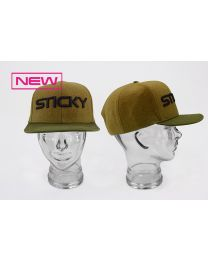 Sticky Baits Olive Snap Back Cap