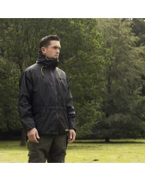 Tactic Carp Rain Parka Black XL