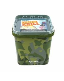 Bait-Tech Camo Bucket Krill Pellets 2.5k