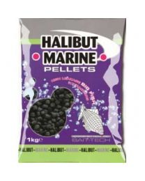 Bait-Tech Halibut Drilled Pellets 8 MM