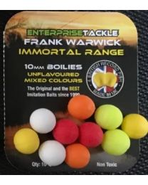 Enterprise tackle immortal 10mm boilie mixed unflavoured