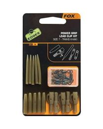 Fox Power Grip Lead Clip Kit Khaki