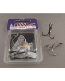 Fudo Hooks Treble 2201 Black Nickel 6