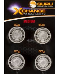 Guru x-change window weights extra small / small 40+50gr