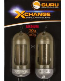 Guru x-change window feeder extra small 40+ 50gr