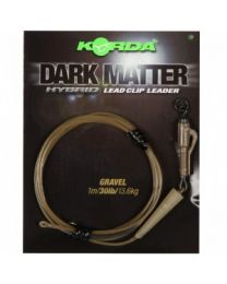 Korda dark matter hybrid leadclip leader gravel