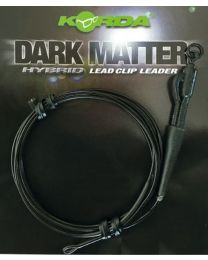 Korda dark matter hybrid leadclip leader weedy green