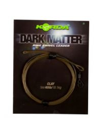 Korda dark matter leader ring swivel clay