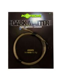 Korda dark matter leader ring swivel gravel