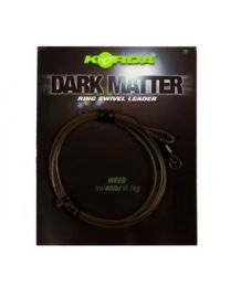 Korda dark matter leader ring swivel weedy green