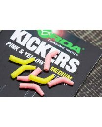 Korda Kickers Yellow Pink Small
