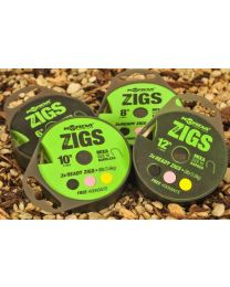 Korda Ready Zigs 8' Barbless 10