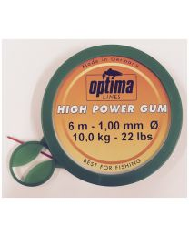 Optima High Power Gum 1,00mm 22Lbs