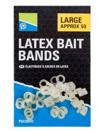 Preston latex bait bands large 50st