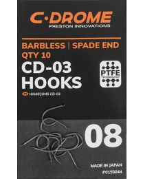 Preston C-drome CD-03 hooks size 10