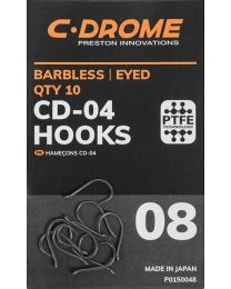 Preston C-drome CD-04 hooks size 8