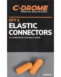 Preston C-drome elastic connectors