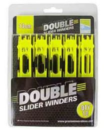 Preston Double Slider Winders 13cm 10pcs