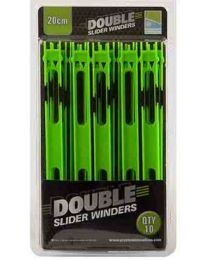 Preston Double Slider Winders 20cm 10pcs