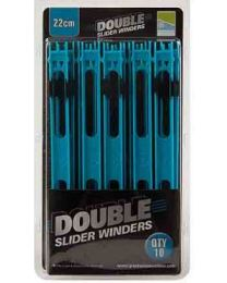 Preston Double Slider Winders 22cm 10pcs