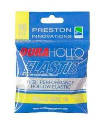 Preston dura hollo elastic size 16 yellow