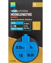 Preston revalution hooklengths N30 16