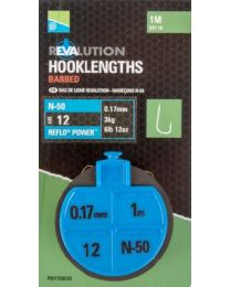 Preston revalution hooklengths N50 16