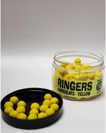 Ringers bandem chocolate boilies yellow 10mm