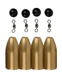 Savage Gear brass bullets 10 gram 4 stuks