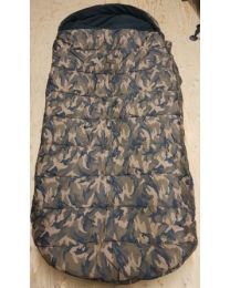 Skills all seasons sleeping bag camo