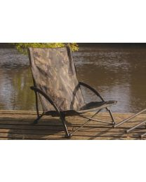 Solar undercover camo fold easy chair low