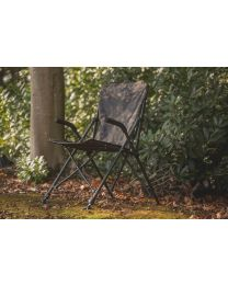 Solar undercover camo fold easy chair high