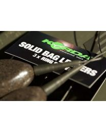 Korda Solid Bag Leaders Ring Swivel Weed