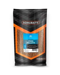 Sonubaits F1 feed pellets 2 mm 900 gram